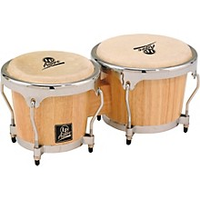 LP LPA601 Aspire Oak Bongos with Chrome Hardware Level 1 Natural