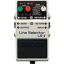 Boss LS-2 Line Selector/Power Supply Level 1