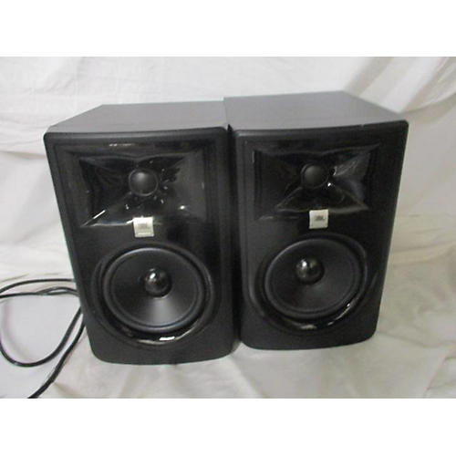 used jbl lsr305 pair powered monitor guitar center. Black Bedroom Furniture Sets. Home Design Ideas