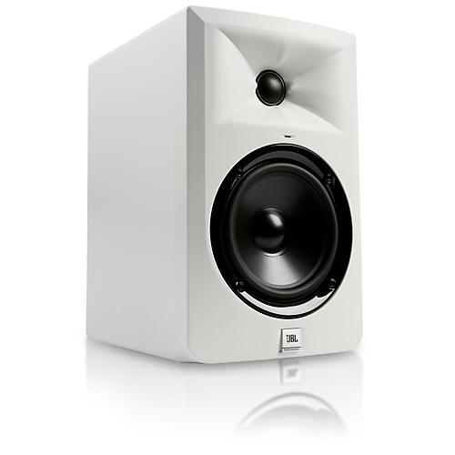 jbl lsr305 wh 5 powered studio monitor limited edition white guitar center. Black Bedroom Furniture Sets. Home Design Ideas