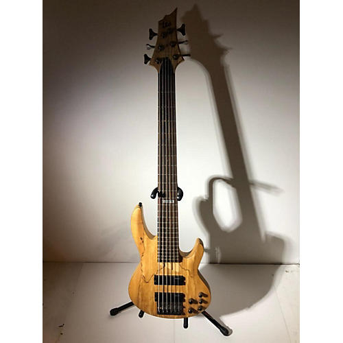 used esp ltd b206sm 6 string electric bass guitar spalted maple guitar center. Black Bedroom Furniture Sets. Home Design Ideas