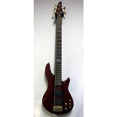 used esp ltd c305 electric bass guitar trans red guitar center. Black Bedroom Furniture Sets. Home Design Ideas