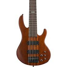 ESP LTD D-6 6-String Bass Guitar Level 1 Satin Natural