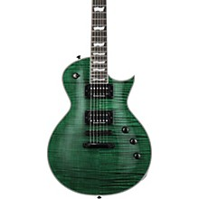LTD EC-1000FM Electric Guitar Transparent Emerald Green