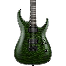 LTD H-1001 Electric Guitar Transparent Green