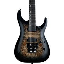 LTD H-1001FR Electric Guitar Black Natural Burst