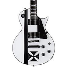 ESP LTD James Hetfield Signature Iron Cross Electric Guitar Level 1 Snow White