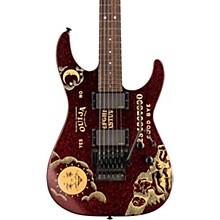 LTD KH-OUIJA Kirk Hammett Ouija Electric Guitar Red Sparkle