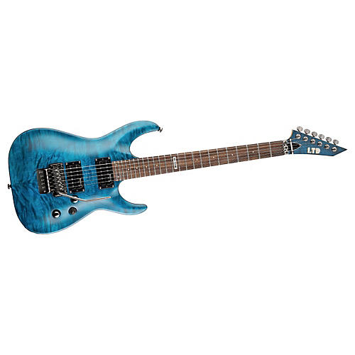 ESP LTD MH-100 Quilted Maple Electric Guitar