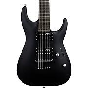 LTD MH-17 7-String Electric Guitar Satin Black
