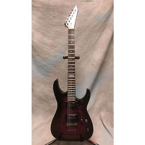ESP LTD MH100QMNT Solid Body Electric Guitar