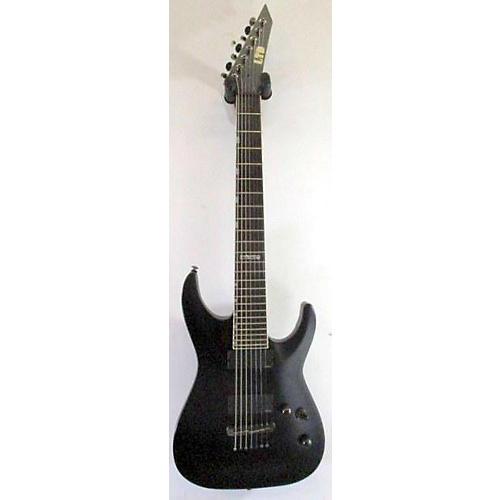 used esp ltd mh417 7 string solid body electric guitar black guitar center. Black Bedroom Furniture Sets. Home Design Ideas