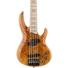 LTD RB-1005 5 String Electric Bass Guitar Level 2 Honey Natural 888365910970