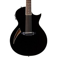 LTD TL-6 Thinline Acoustic-Electric Guitar Black