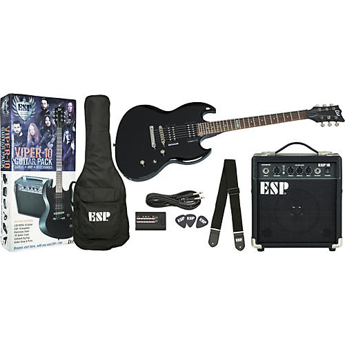 ESP LTD VIPER-10 Guitar Pack