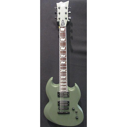 used esp ltd viper 256 solid body electric guitar matte green guitar center. Black Bedroom Furniture Sets. Home Design Ideas