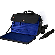 Protec LUX Flute and Piccolo Case with Sheet Music Messenger Bag