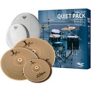 LV468 Low Volume Cymbal Set with Remo Silent Stroke Heads