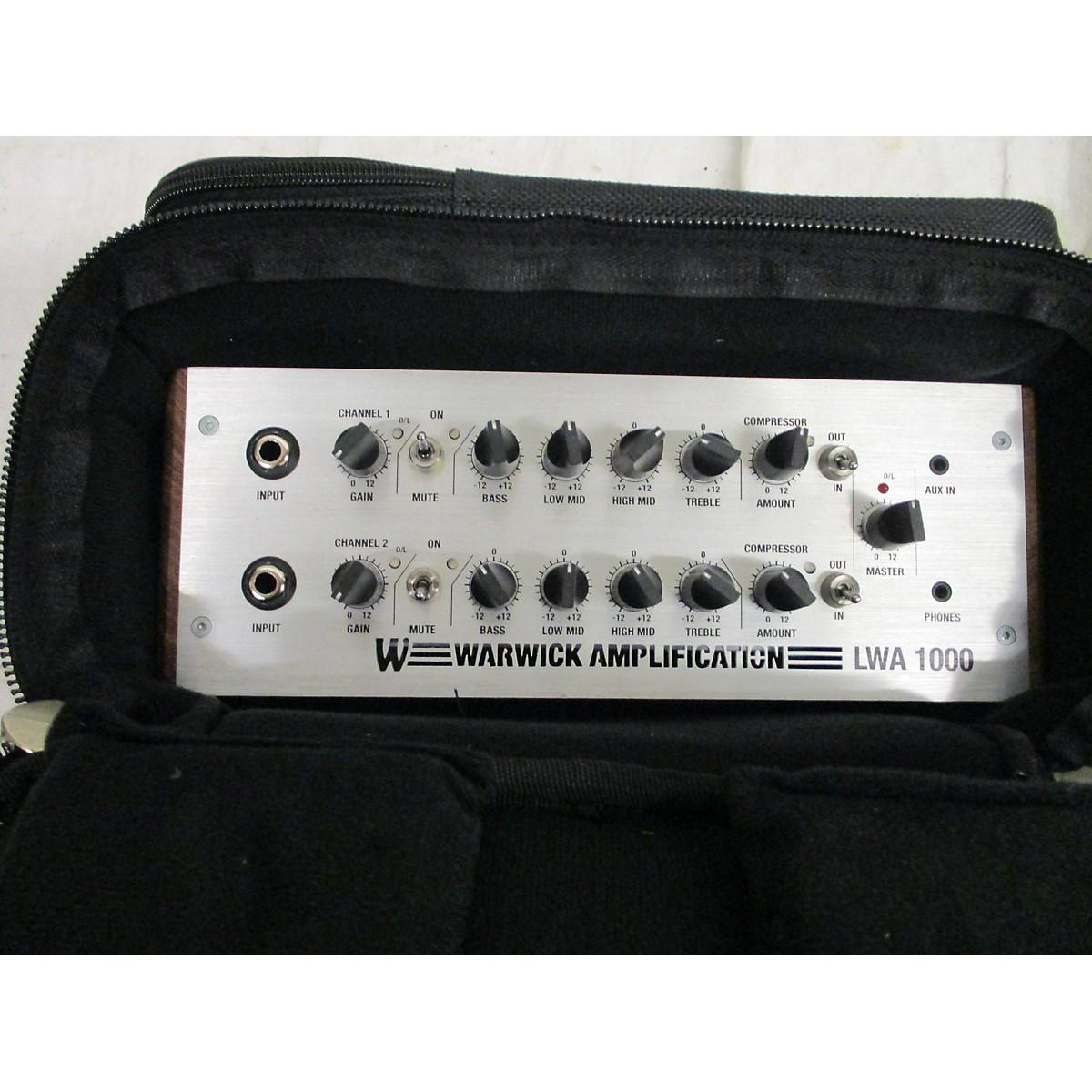 Warwick LWA1000 Bass Amp Head