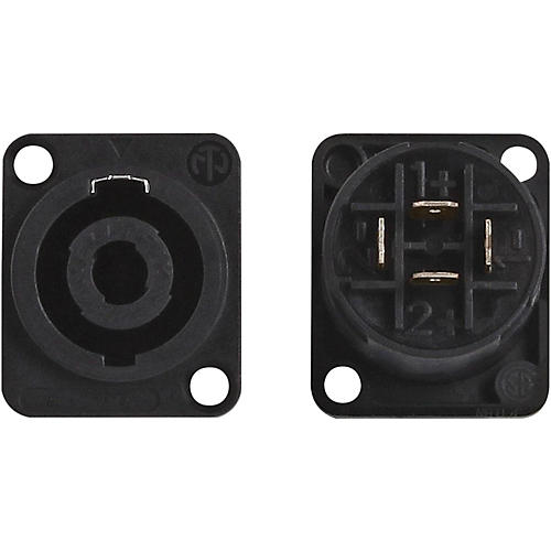 Livewire LWNL4MP Neutrik (Pr) Speakon Chassis Mount Connector