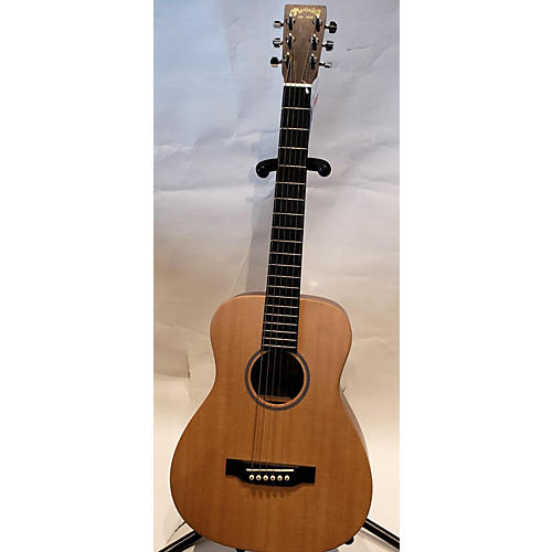 used martin lx1 acoustic guitar natural guitar center. Black Bedroom Furniture Sets. Home Design Ideas
