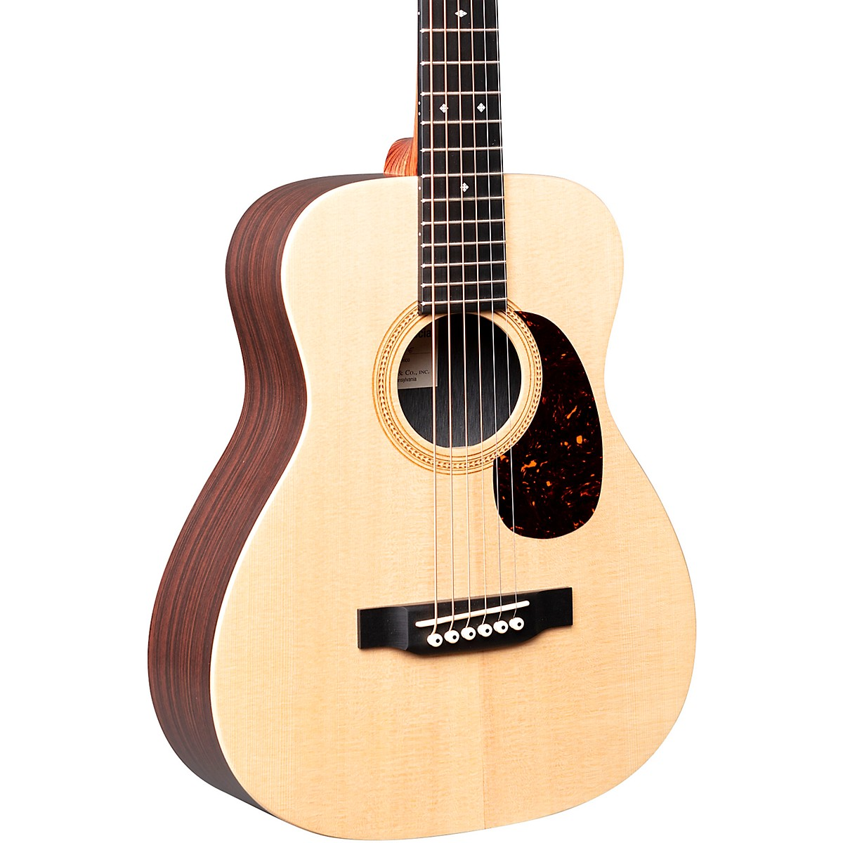 Martin LX1RE Little Martin with Rosewood HPL Acoustic-Electric Guitar