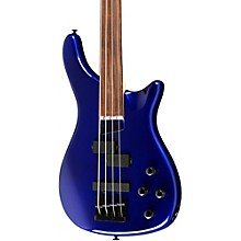 LX200BF Fretless Series III Electric Bass Guitar Metallic Blue