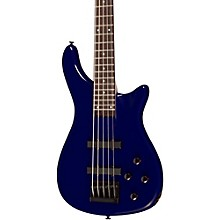 LX205B 5-String Series III Electric Bass Guitar Metallic Blue