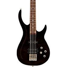 LX400 Series III Pro Electric Bass Guitar Level 2 Transparent Black 190839838599