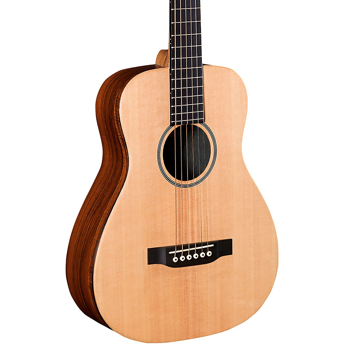 Martin LXK2E Solid Spruce with Koa Little Martin Acoustic-Electric Guitar