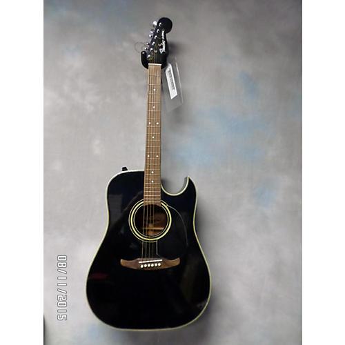used fender la brea black acoustic electric guitar guitar center. Black Bedroom Furniture Sets. Home Design Ideas