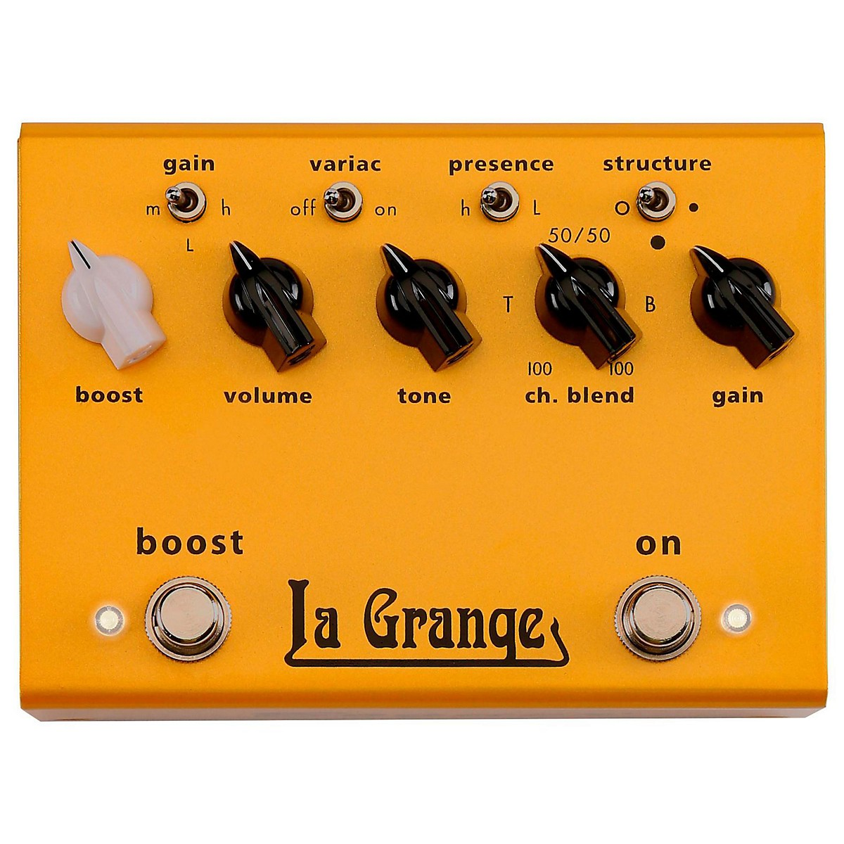 Bogner La Grange Overdrive + Boost Guitar Effects Pedal