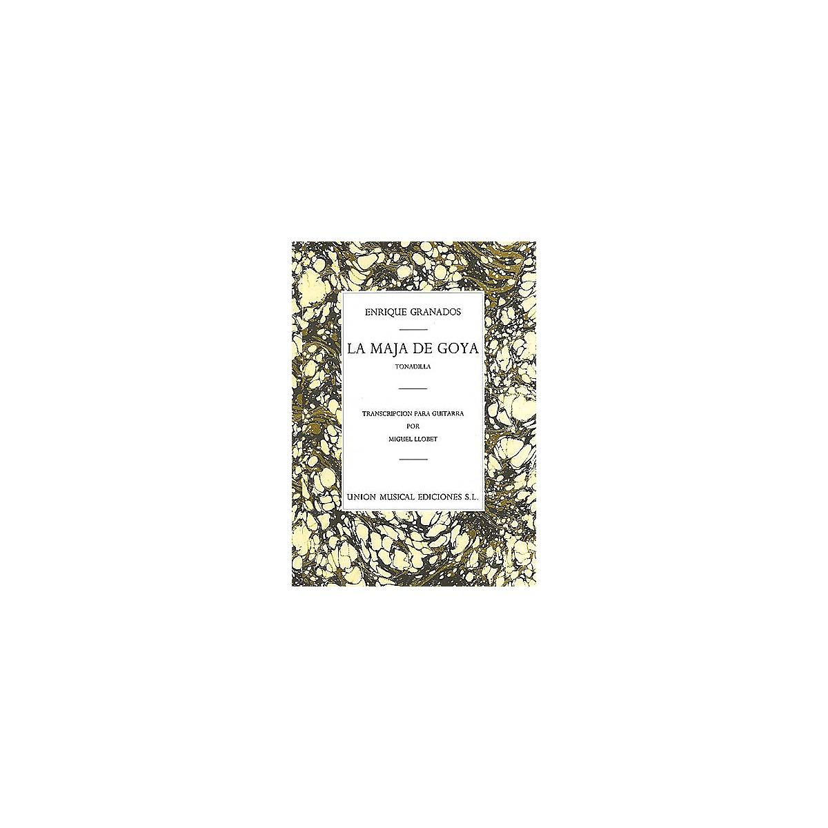 Union Musicale La Maja de Goya from Tonadilla (for Guitar) Music Sales America Series Softcover