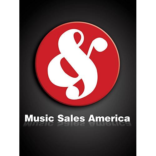 Union Musicale La Oracion del Torero Music Sales America Series Composed by Joaquín Turina