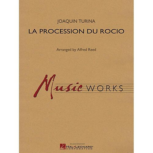 Hal Leonard La Procession du Rocio Concert Band Level 5 Composed by Joaquín Turina