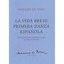 Union Musicale La Vida Breve Primera Danza Espanola (for Cello and Piano) Music Sales America Series
