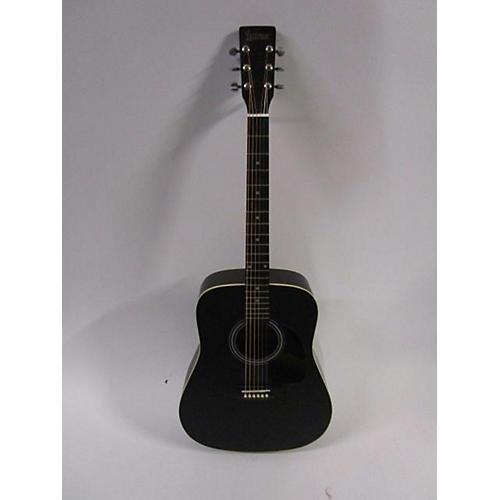 Lauren La125bk Acoustic Guitar