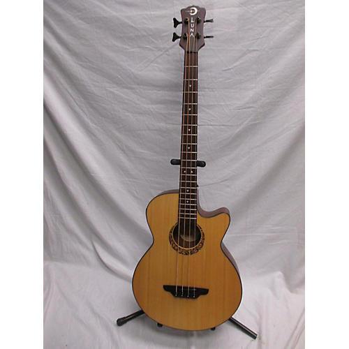 Luna Guitars Lab30 Tribal Acoustic Bass Guitar