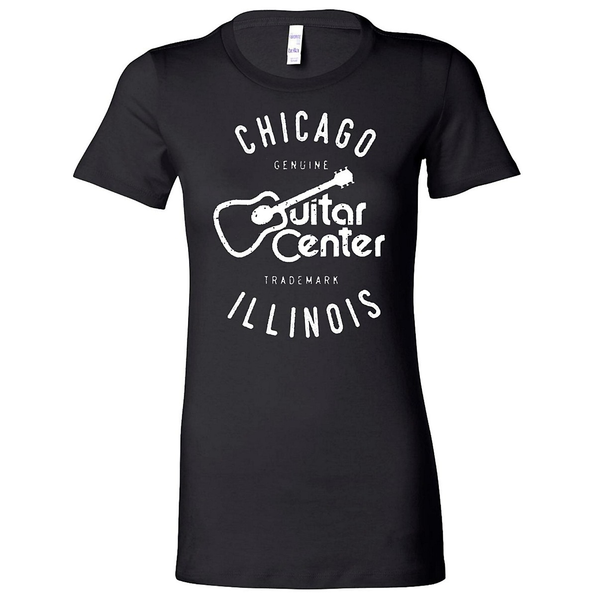 Guitar Center Ladies Chicago Fitted Tee