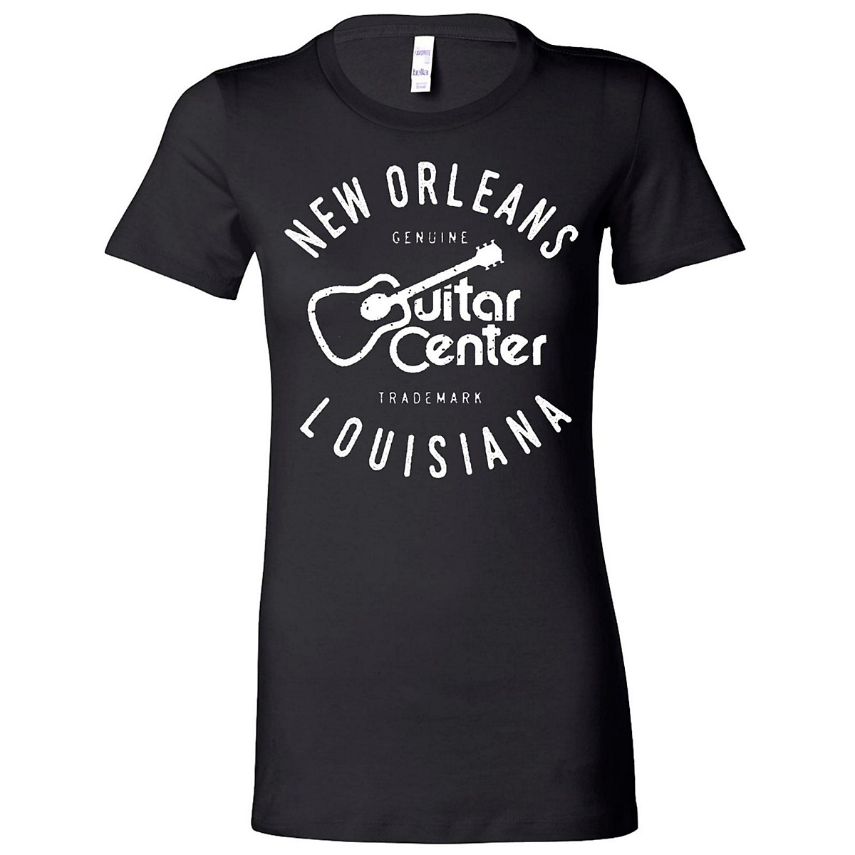 Guitar Center Ladies New Orleans Fitted Tee