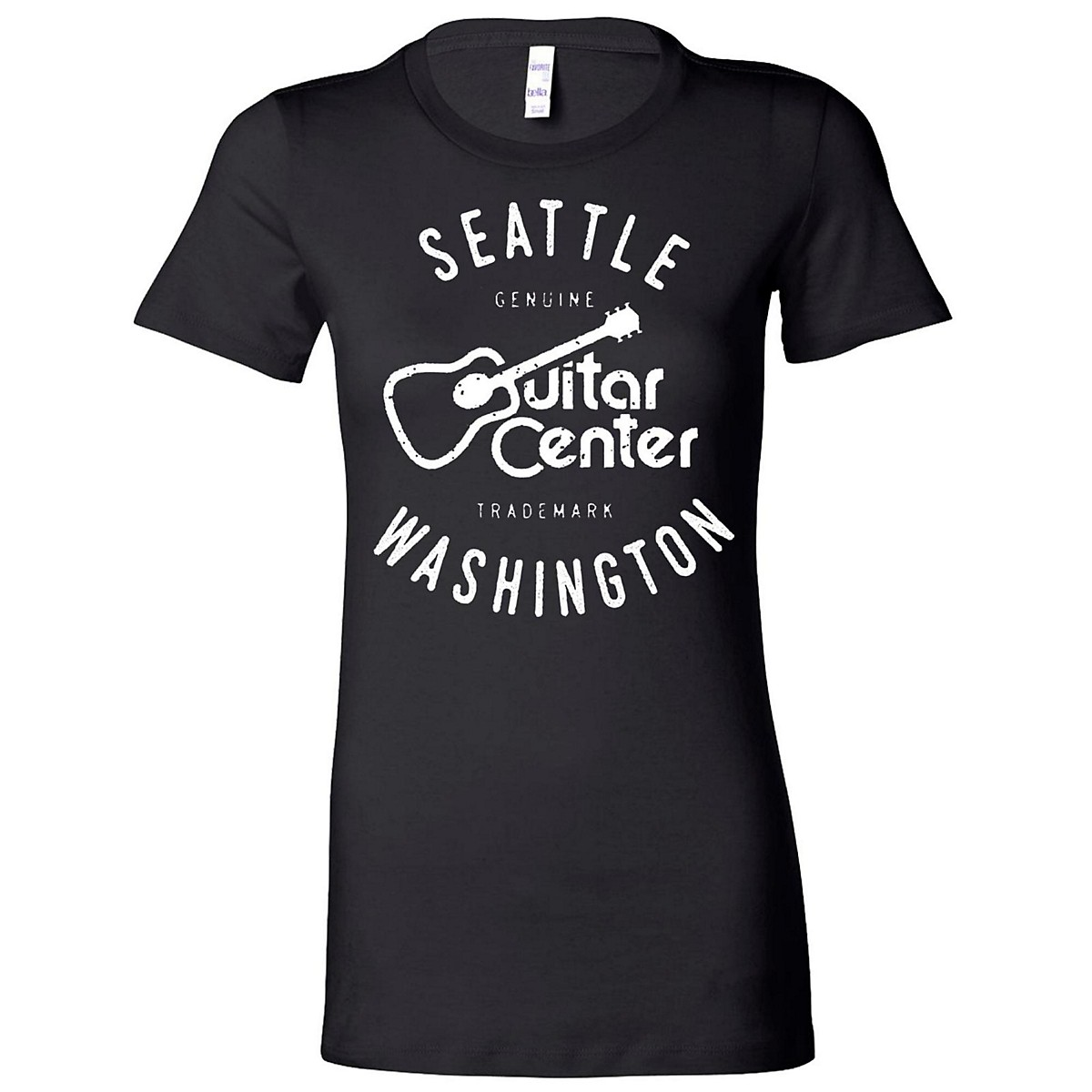 Guitar Center Ladies Seattle Fitted Tee
