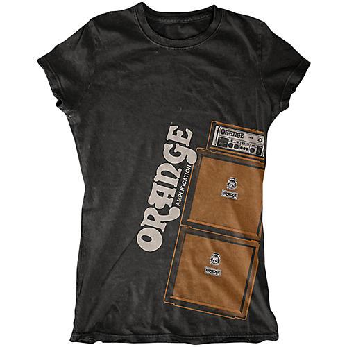 Orange Amplifiers Ladies Stack T-Shirt
