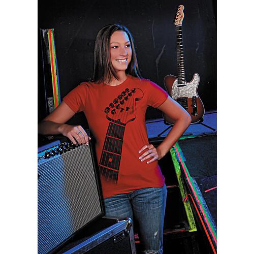 Fender Ladies Strat Neck Tee Shirt