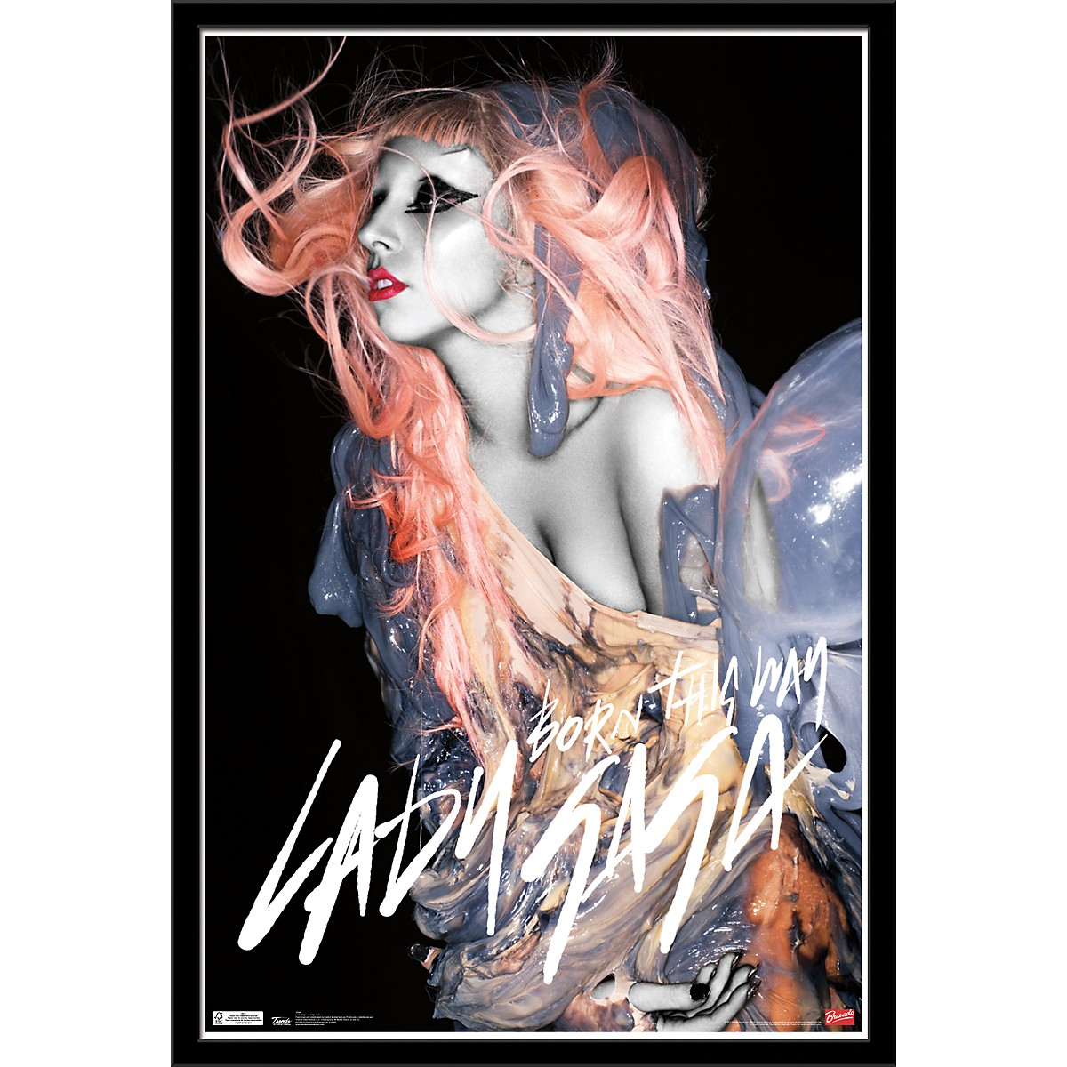 Trends International Lady Gaga - Orange Hair Poster