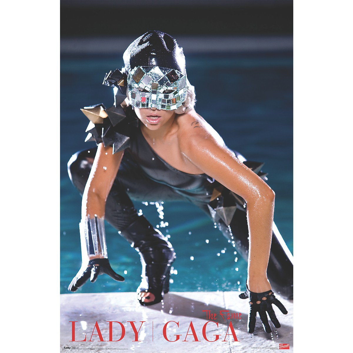Trends International Lady Gaga - Pool Poster