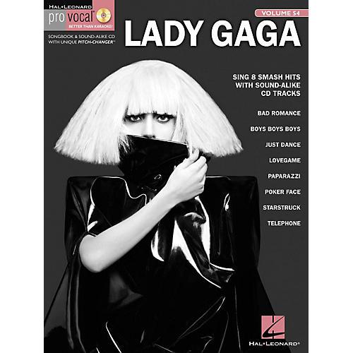 Hal Leonard Lady Gaga - Pro Vocal Women's Edition, Volume 54 Songbook