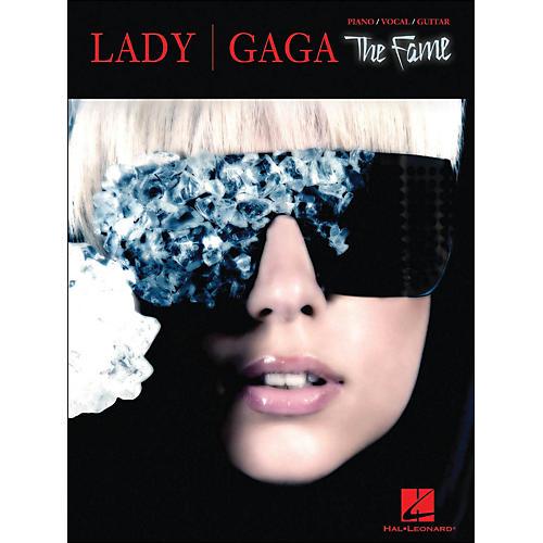 Hal Leonard Lady Gaga The Fame arranged for piano, vocal, and guitar (P/V/G)