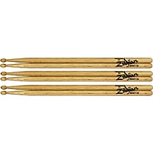 Zildjian Laminated Birch Heavy Drumsticks 3-Pack