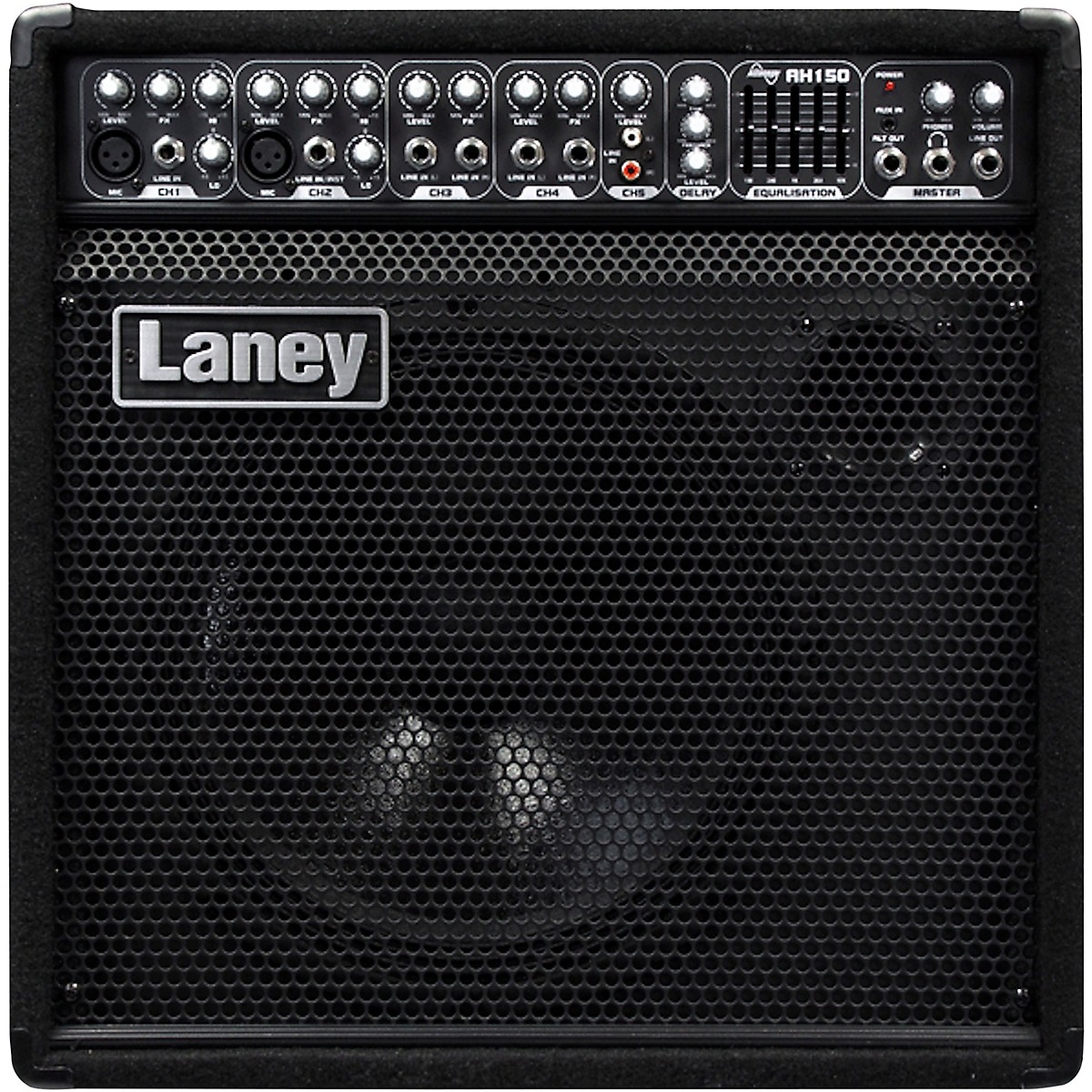Laney Laney AH150 Audio Hub Combo Mulit-input 5 Channels. 5-Band Master EQ & Digital Delay. 150W