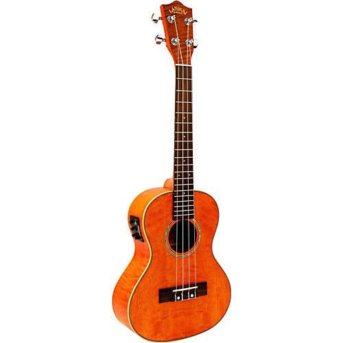 Hohner Lanikai Curly Mango Acoustic-Electric Tenor Ukulele